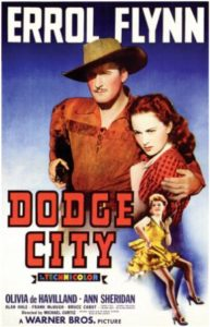 Dodge City (1939) with Errol Flynn