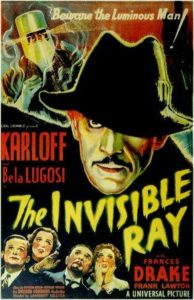 The Invisible Ray (1936) with Bela Lugosi and Boris Karloff