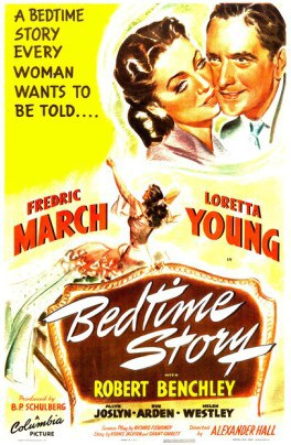Bedtime Story (1941) with Loretta Young and Fredric March